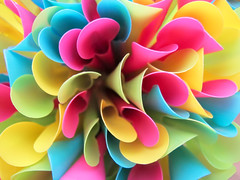 Bouquet of colored Spoon Straws photo by Batikart