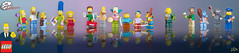 """Lego Minifigures """"The Simpsons' Series"""" photo by Zed The Dragon"""