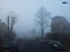 London Foggy day ...On a cold foggy morning -  Explore photo by Velurajah UK