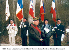 Alsace- 1999 L_Illwald_Transfert dela Stele_- Fonds E. Gauthier