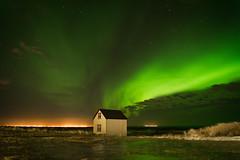 Aurora Borealis photo by Claire Willans
