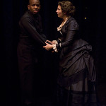 LaShawn Banks and Kymberly Mellen in THE TURN OF THE SCREW at Writers Theatre. Photos by Michael Brosilow.