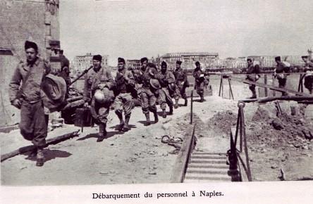 RA- 1944 - Italie- Débarquement à Naples
