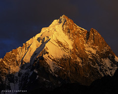Nemachar 6325m. photo by Mountain Photographer