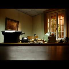 Lucerne , musée Glasi , souffleurs de verre photo by OldLens24