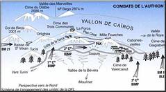 1945- Authion - Carte 1er RIMA