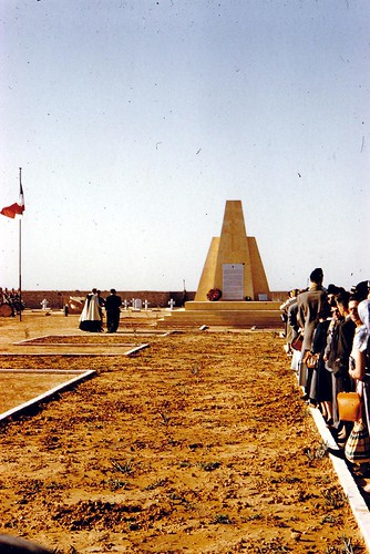 1955- Pèlerinage Bir Hakeim 1955