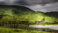 Kilchurn Castle photo by Philipp Klinger Photography