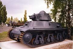 1ere Cie des Char - Char H 39 au musée de Mourmelon