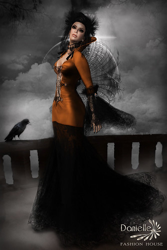DANIELLE AD GothicMadame Halloween Edition