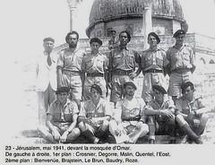 1ere Cie des Chars- 1941 mai- Jérusalem. Source : français libres.net