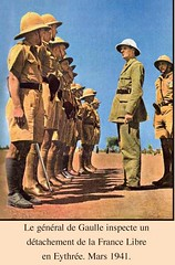 1941- Erythrée- inspectionde Gaulle