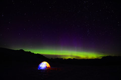 tent northern lights 2315 - Explored photo by Light of the Moon Photography