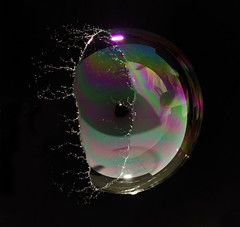 Single Flash Bubble Burst photo by richard.heeks