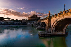 Tramonto a Castel Sant'Angelo - Roma photo by Luca Pardo