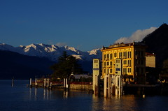 Luci del tramonto a Varenna photo by Fab!!