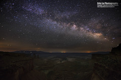 milky way over canyonlands photo by Eric 5D Mark III
