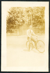 An Unidentified Man On A Bicycle photo by mrwaterslide