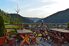 Terrace with a view - to Bran Castle photo by Ramona R*** - Visual Metaphors