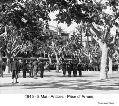 BM 4 Chambarand - 1945 Mai_Antibes - Col. Emile Gauthier