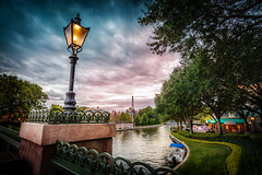 An Epcot Evening (Explored) photo by Marc Perrella