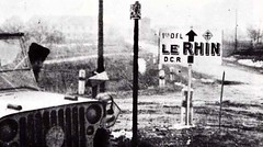1945 - Alsace- La DFL à  Marckolsheim