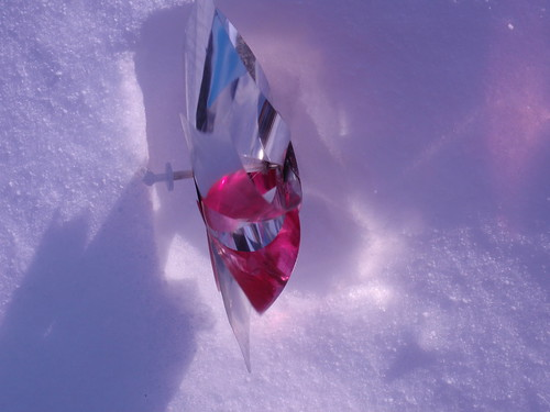 Pinwheel in Snow