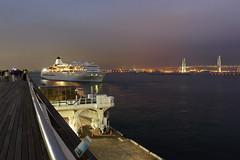 "ship bound outward ""Yokohama harbor"" photo by cate♪"