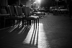 arranged shadows photo by Victor Bezrukov
