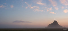 Panorama Mont Saint-Michel un matin. photo by Zed The Dragon