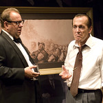 William Brown and Larry Yando in NIXON'S NIXON at Writers Theatre. Photos by Michael Brosilow.