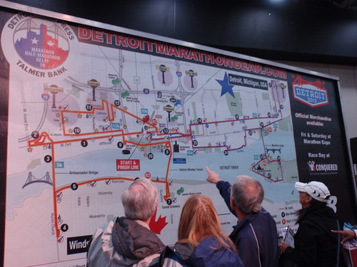 Giant Marathon Map