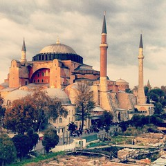 Hagia Sophia Mosque in Istanbul - Turkey photo by My instgram : TURKI9292