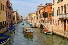 Venice : Ponte Rosso o dei Trasti / Fondamenta de la Sensa / Rio de la Sensa / Ponte de la Malvasia photo by Pantchoa