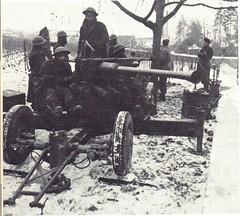21e GA DCA - Alsace-  7 janvier passe en défense contre blindés - Paul Gaujac