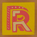 Bob and Roberta Smith Alphabet Block Letter R