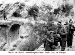 BM 4 Chambarand - 1945 24-25 Avril_Breil_Croix de Mairige  - Col. Emile Gauthier