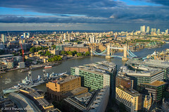 View of London from The Shard photo by Theunis Viljoen LRPS