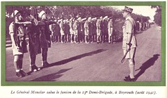 13 DBLE- 1941 aout- Liban- Monclar Beyrouth