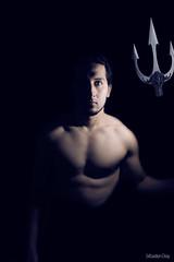 the Black project: Autoportrait au trident photo by seboblavie
