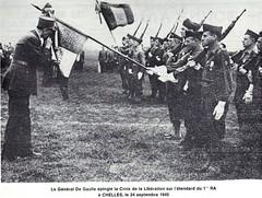 RA- 24 sept 45 1e RA Compagnon Chelles
