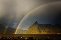 Und noch ein Regenbogen-Lofoten(explored) photo by BWV228
