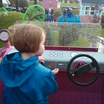 Amy doing a spot of Driving<br/>09 Nov 2013
