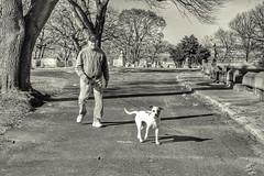 People I meet in cemeteries photo by Van Luvender