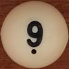 Bingo Ball Number 9