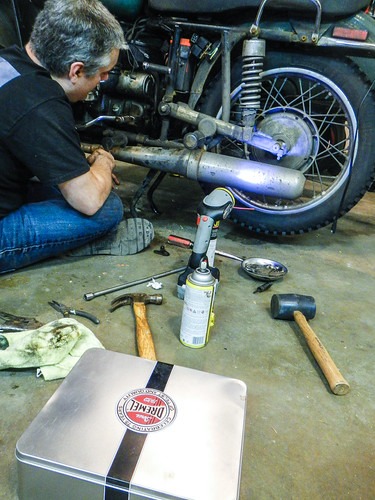 Ural Wrenching Rear Brake Pedal and Hal Sensor