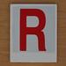 Hangman Red Letter R