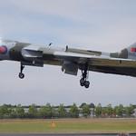 Vulcan coming into land<br/>19 Jul 2014