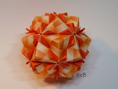 Origami Sonobe by Maria Sinayskaya photo by esli24