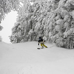 """4"""" New Snow at Cannon! 2.7.17"""